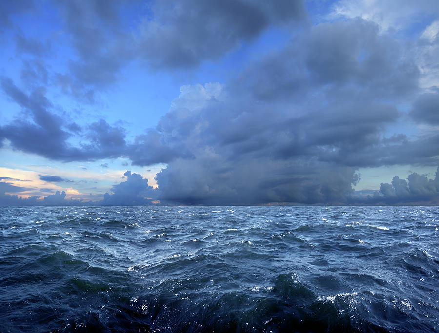 Stormy Day On Sea Photograph by Imagedepotpro