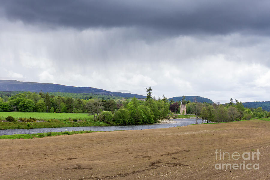 Stormy Deeside by Tanya C Smith