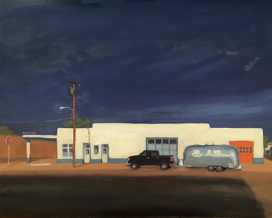 Stormy Marfa by Elizabeth Jose