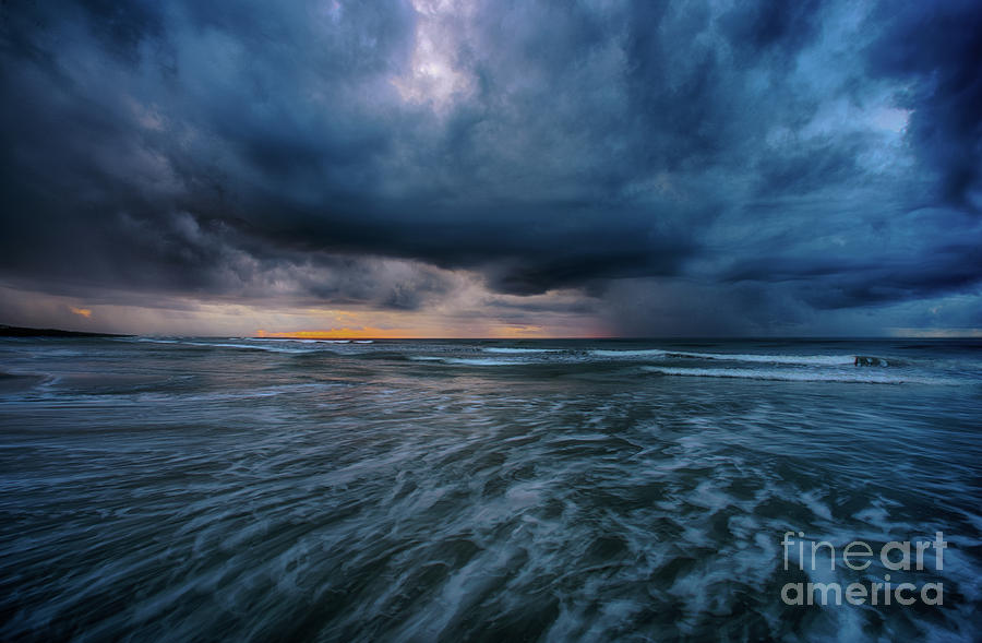 Stormy Morning by David Smith