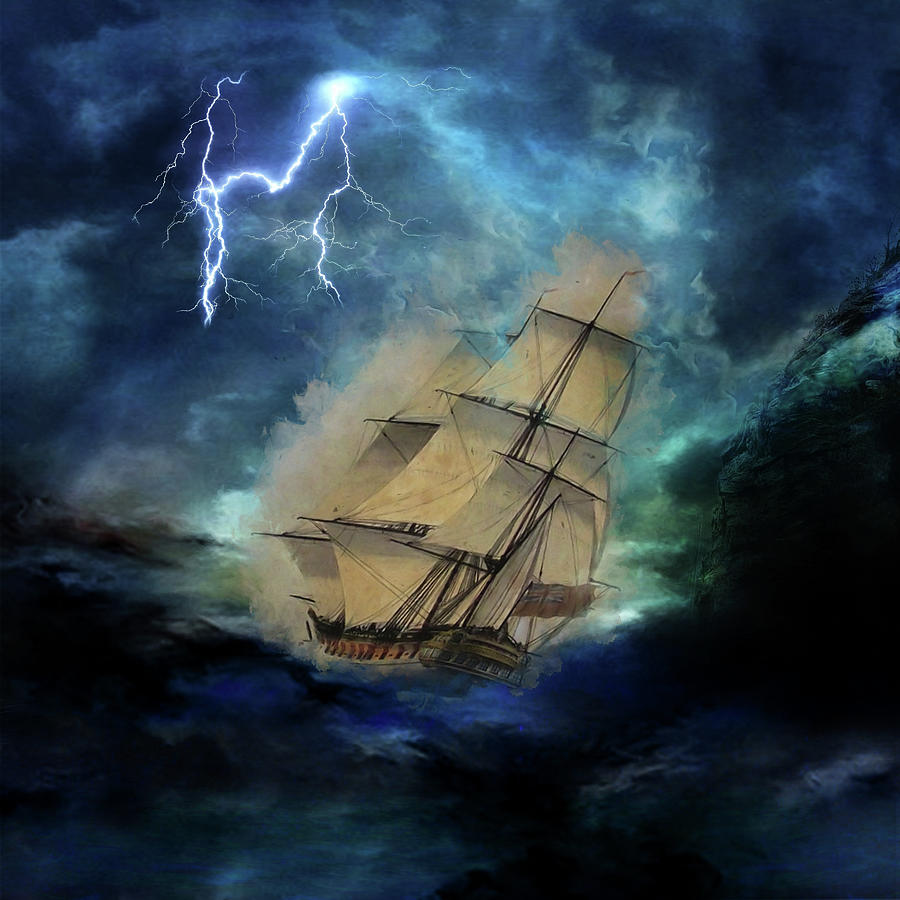 Stormy Seas by Marilyn Wilson