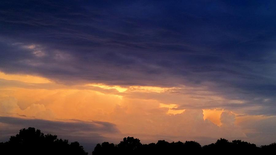 Stormy September Sunset Photograph
