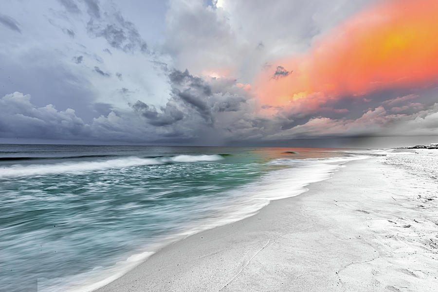 Stormy Sunrise - Gulf Shores Alabama by Norman Peay