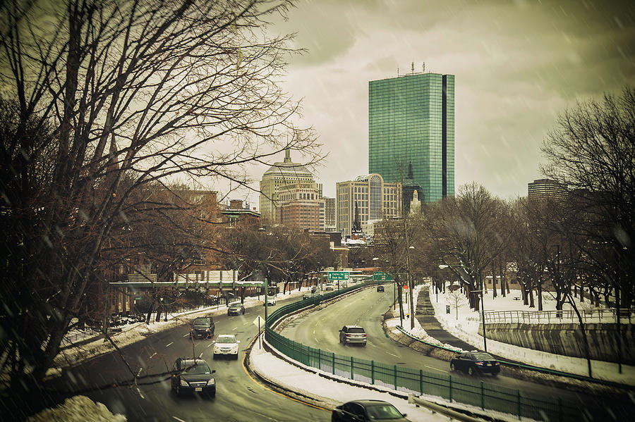 Storrow Drive Boston by Joann Vitali
