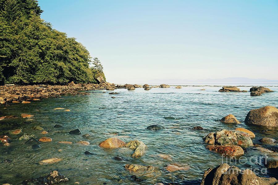Strait Of Juan De Fuca Photograph