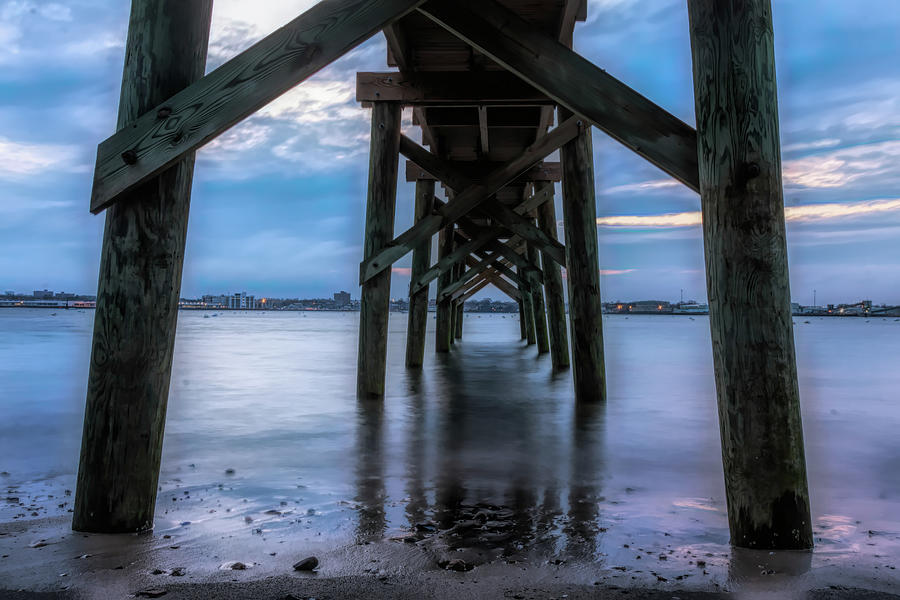 Stramski Pier view of Salem by Jeff Folger