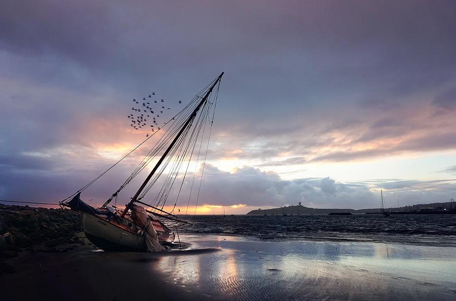 Stranded during the last storm by Peter Thoeny