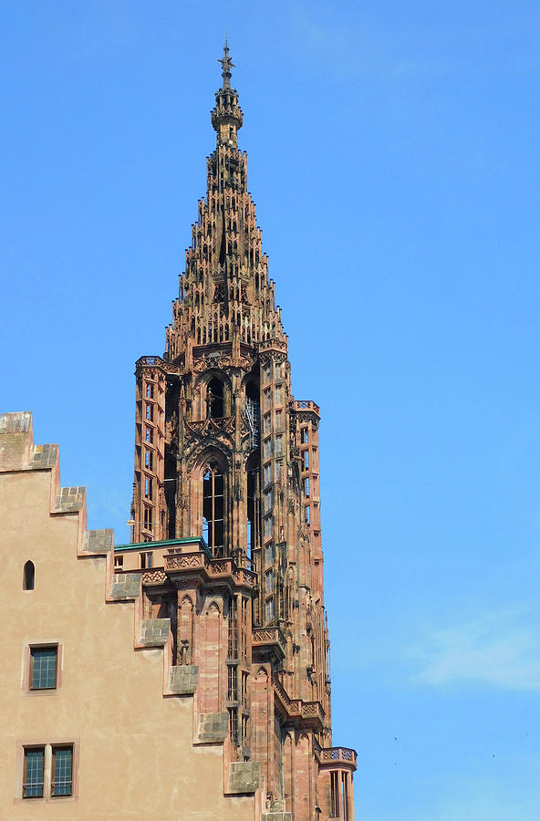Strasbourg Cathedral Steeple Beauty by Emmy Marie Vickers