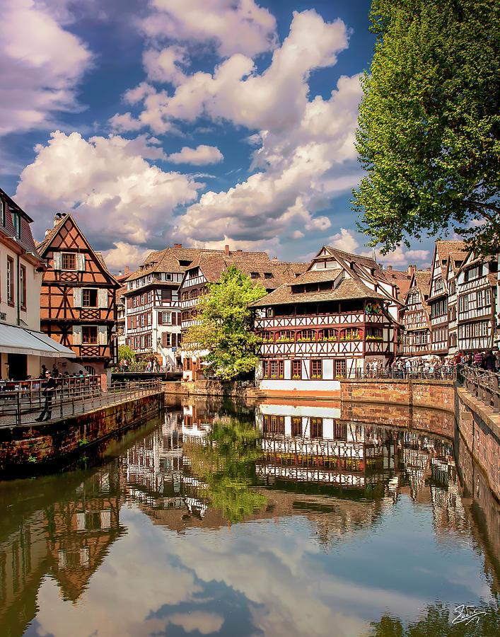 Strasbourg Center by Endre Balogh