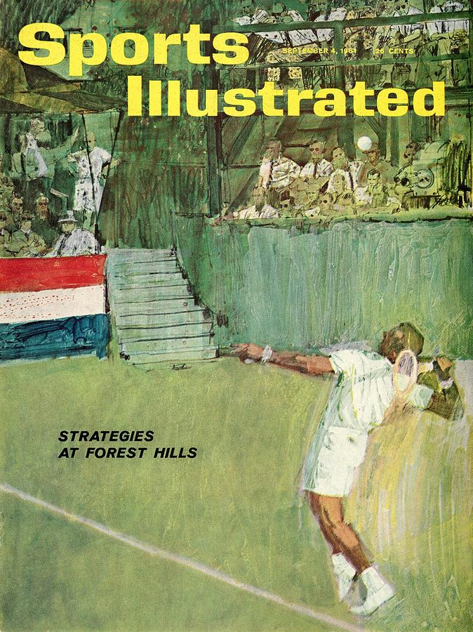 Strategies At Forest Hills Sports Illustrated Cover Photograph by Sports Illustrated