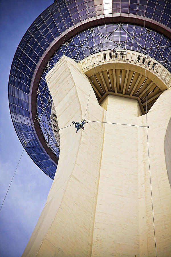 Stratosphere Jumper Las Vegas Photograph By Tatiana Travelways