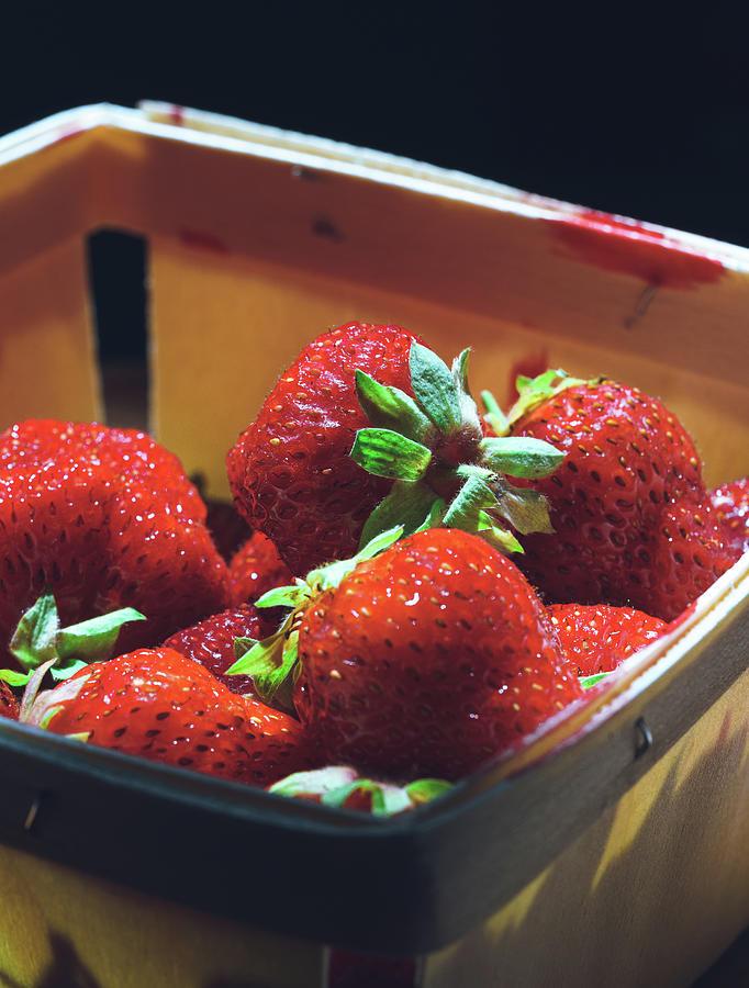 Strawberries by Nisah Cheatham