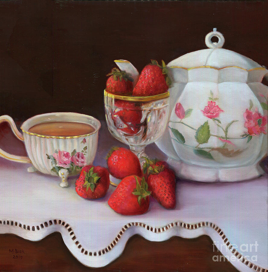 Strawberry Tea by Marlene Book