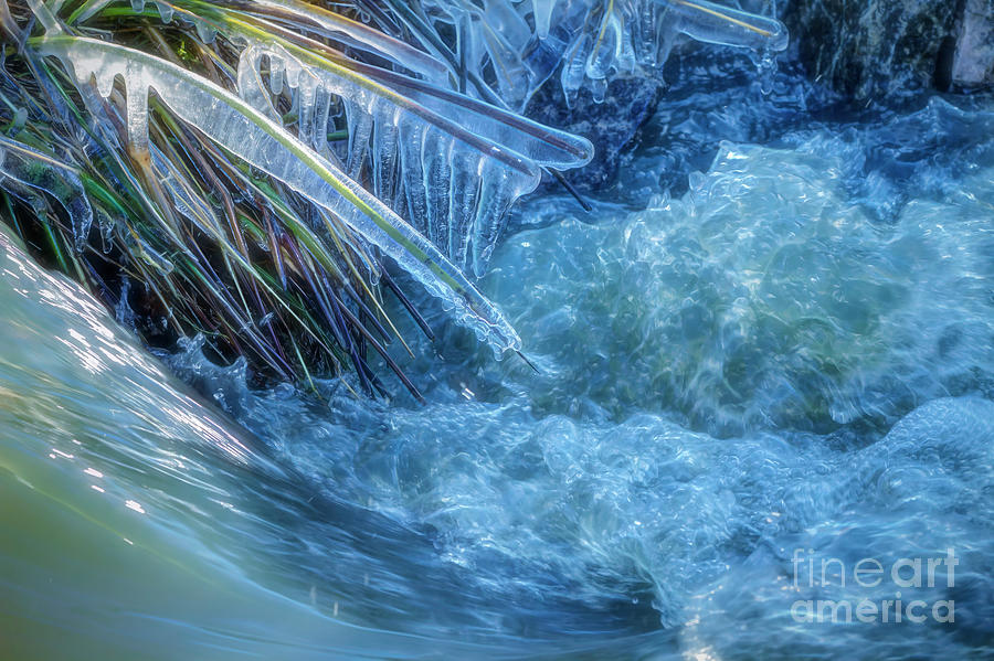 Abstract Photograph - Stream 3 by Veikko Suikkanen