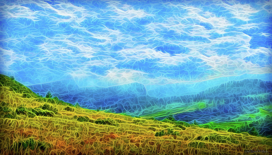 Streaming Clouds by Joel Bruce Wallach