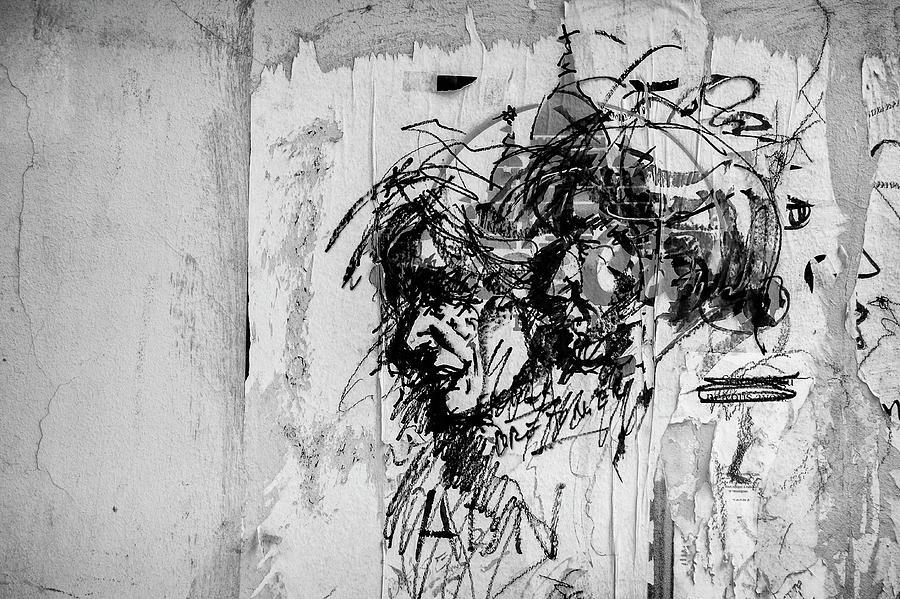 Street Art at Montmartre. by Pablo Lopez