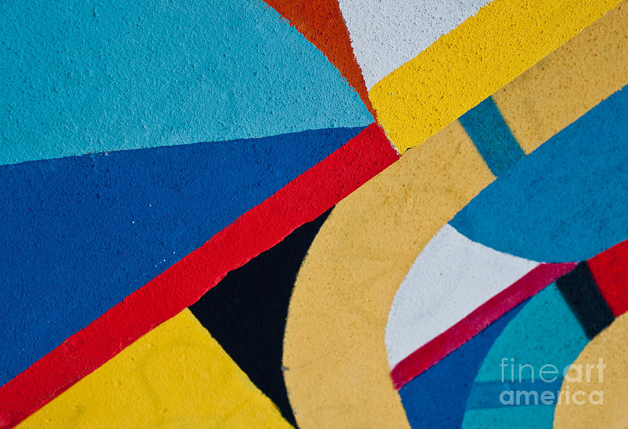 Symbol Photograph - Street Art - Graffiti On The Wall by Azazello Photo Studio