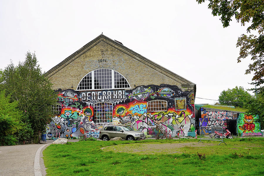 Street Art In Freetown Christiania by Richard Rosenshein
