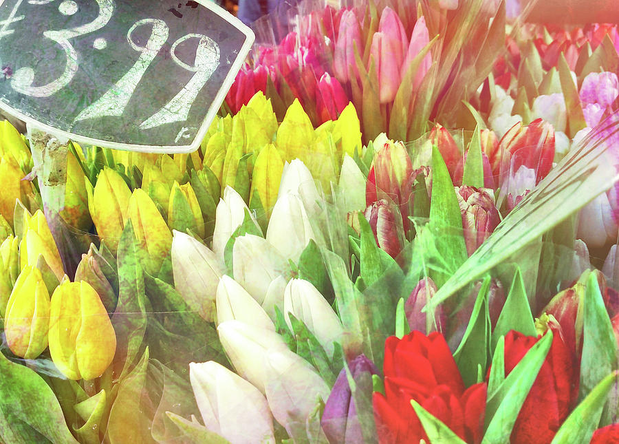London Photograph - Street Bouquets by JAMART Photography