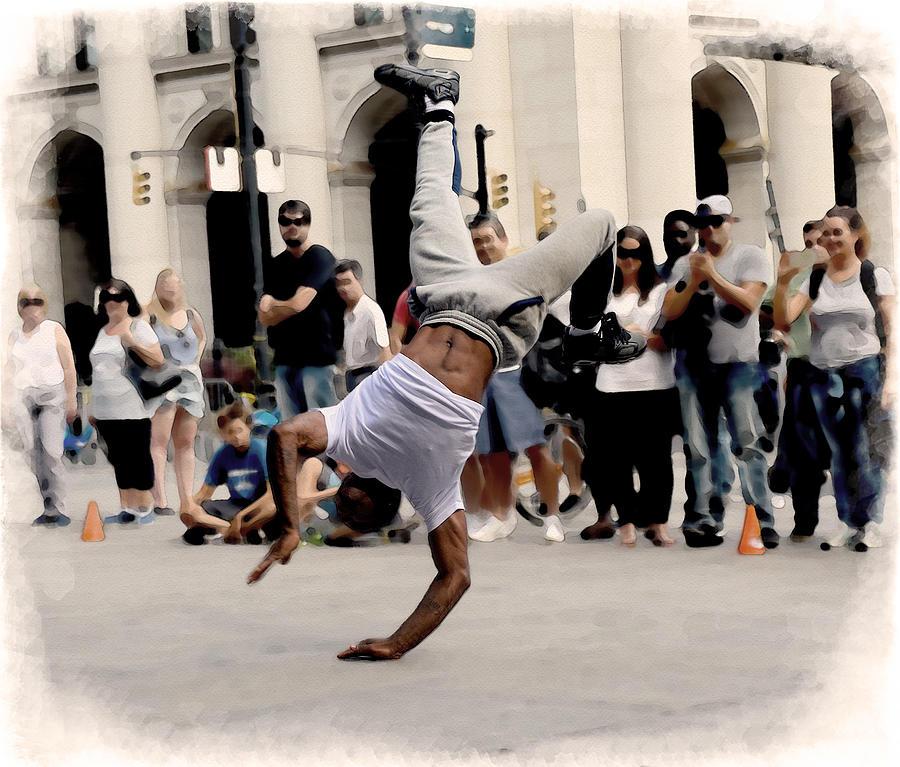 Street Dance. New York City. by Alex Mir