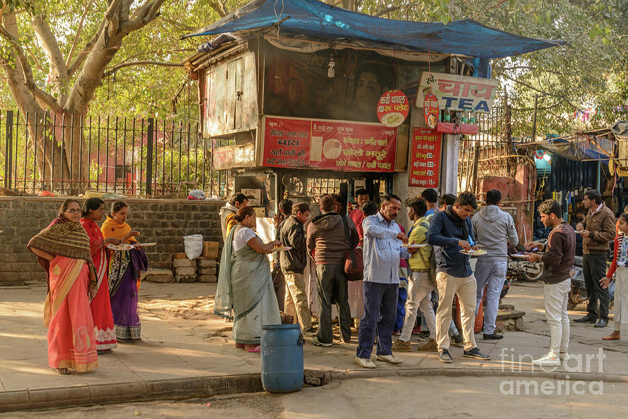 Street Food Delhi by Werner Padarin