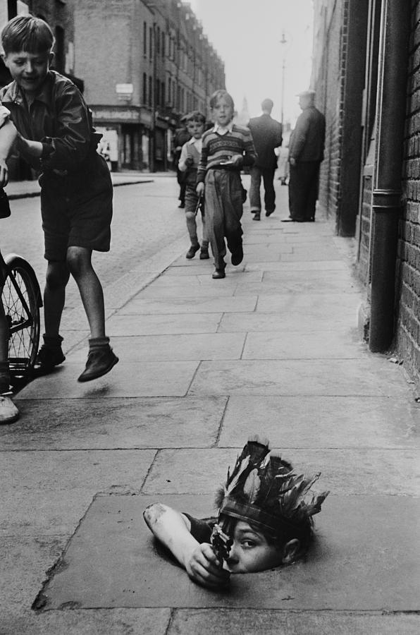 Street Games Photograph by Thurston Hopkins