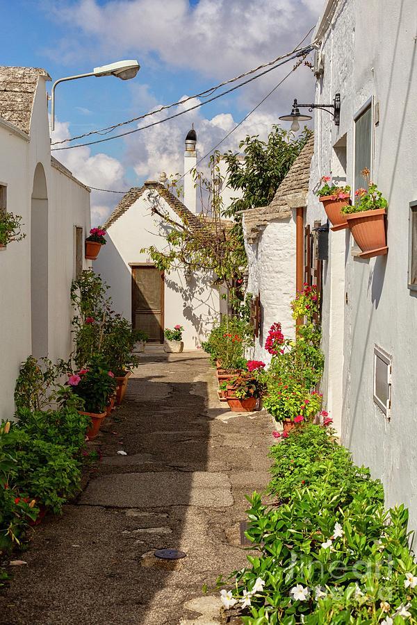 Street In Alberobello, Puglia Photograph