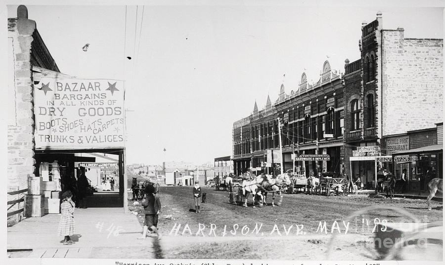Street In Small Western Town Photograph by Bettmann