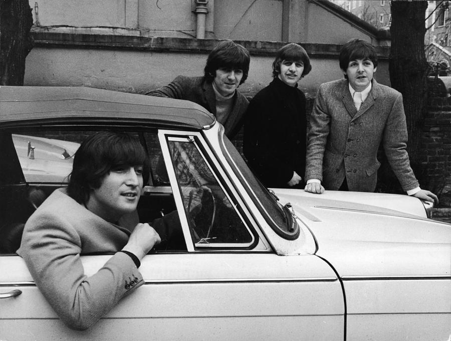 Street Legal Beatle Photograph by Express Newspapers