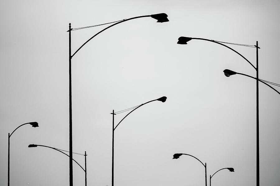 Street lights by Bob Duncan