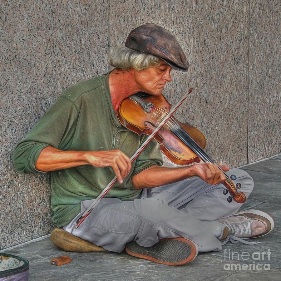 Street Music by Kathy Baccari