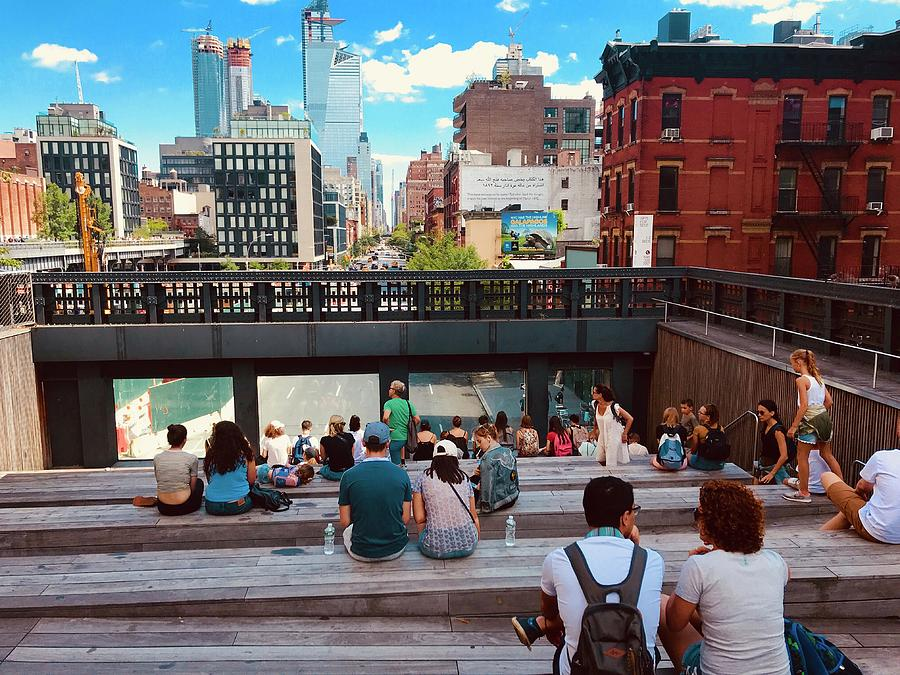 New York Photograph - Street Theater At The Highline In New York by Funkpix  Photo Hunter 814afa5ab432