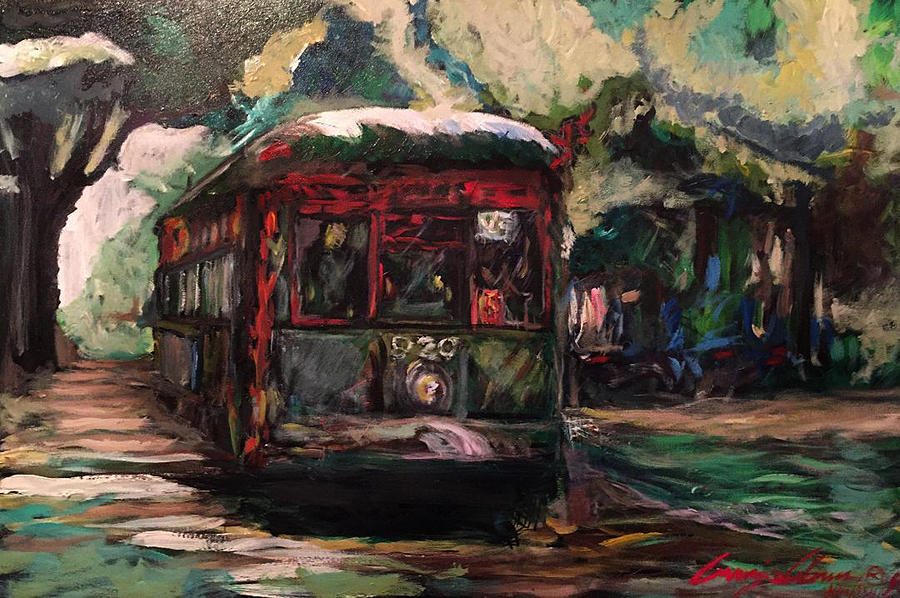 STREETCAR  by Amzie Adams