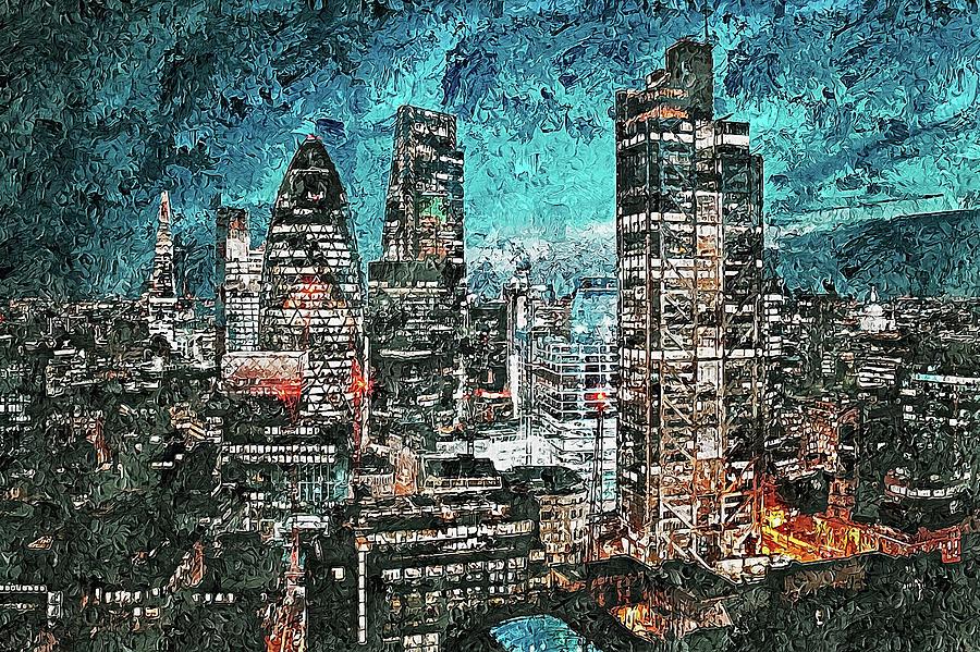 Streets of London - 04 by Andrea Mazzocchetti
