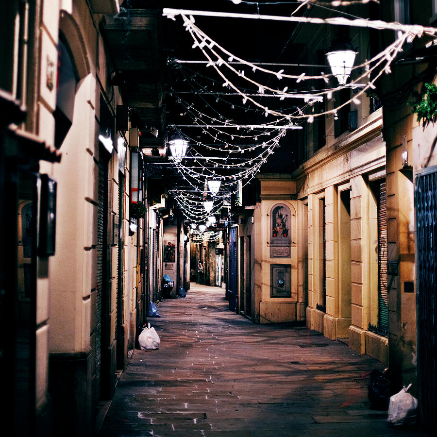 Streets Of Old Town Photograph by Peeterv