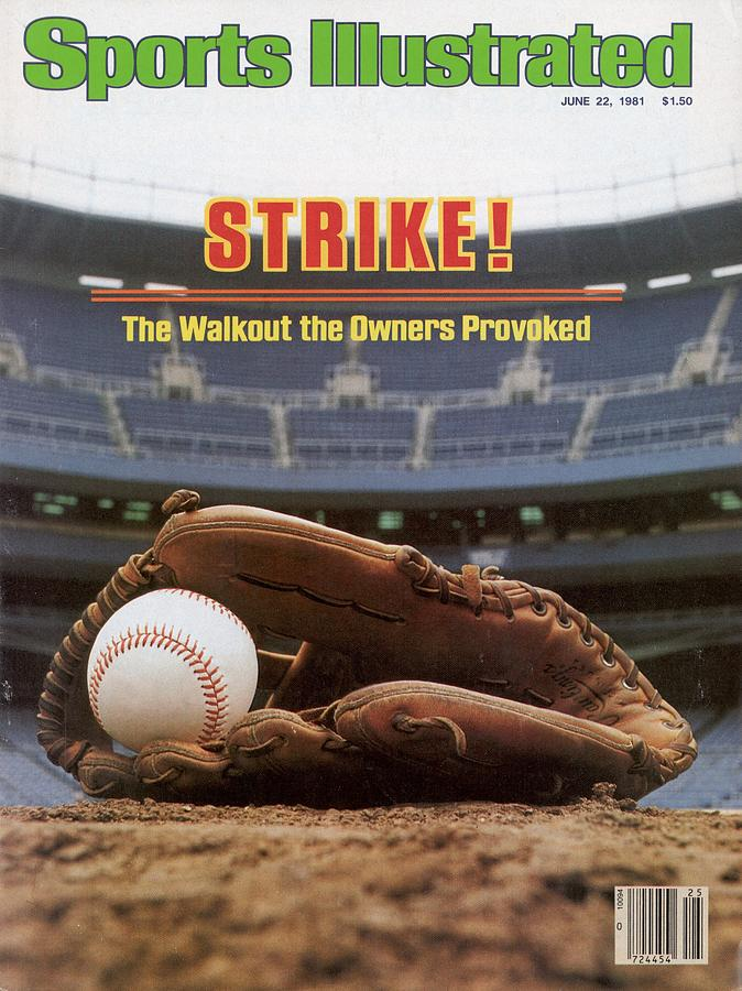Strike The Walkout The Owners Provoked Sports Illustrated Cover Photograph by Sports Illustrated