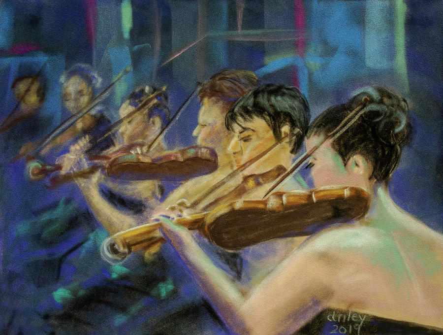 String Section by Dorothy Riley