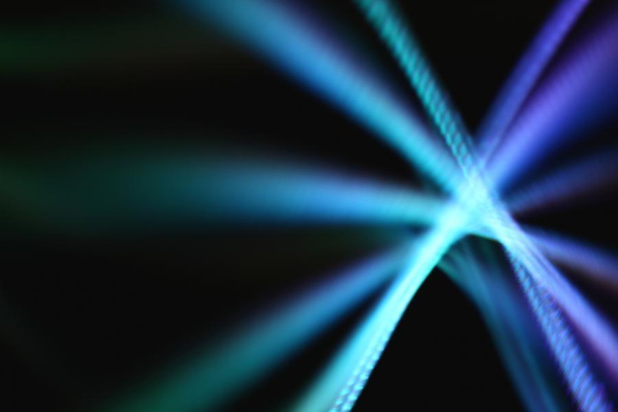 Stringlight Star Burst Photograph by Merrymoonmary