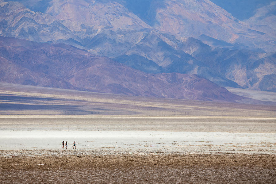 Strolling Badwater Basin by Penny Meyers