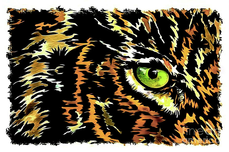 Tiger Painting - Strongheart by Banyan Ranch Studios