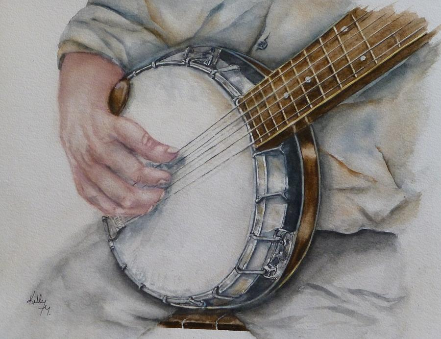 Strumming on the Ol' Banjo by Kelly Mills