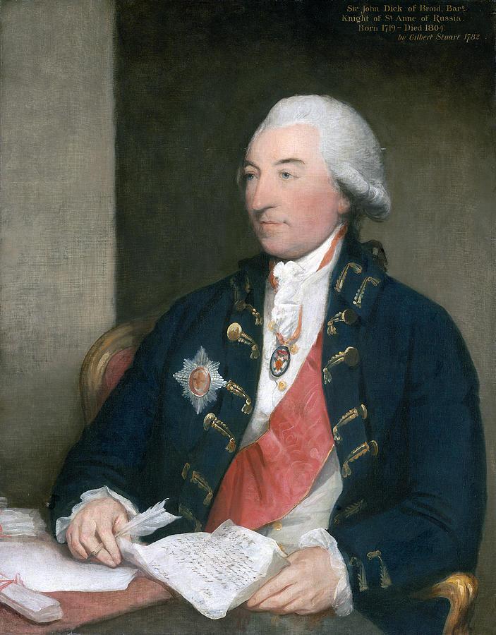 Stuart: Sir John Dick, 1783 by Gilbert Stuart