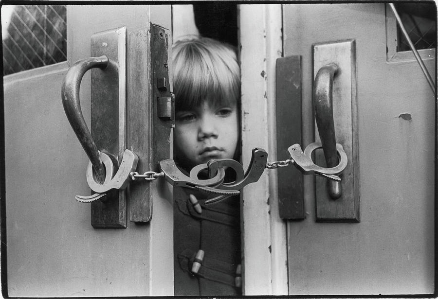 Student During Teachers Strike, 1968 Photograph by Fred W. McDarrah