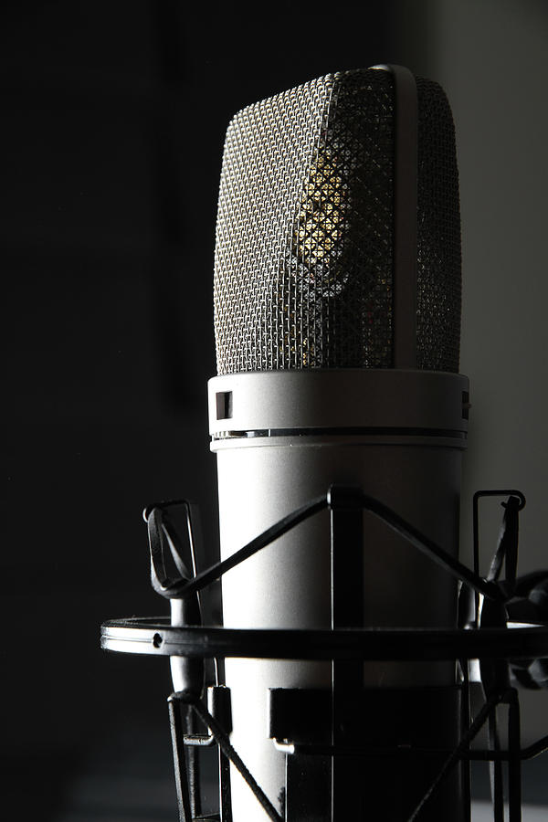 Studio Microphone Photograph by Wibs24