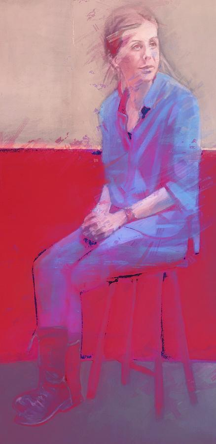 Study in Red by Joyce Creswell