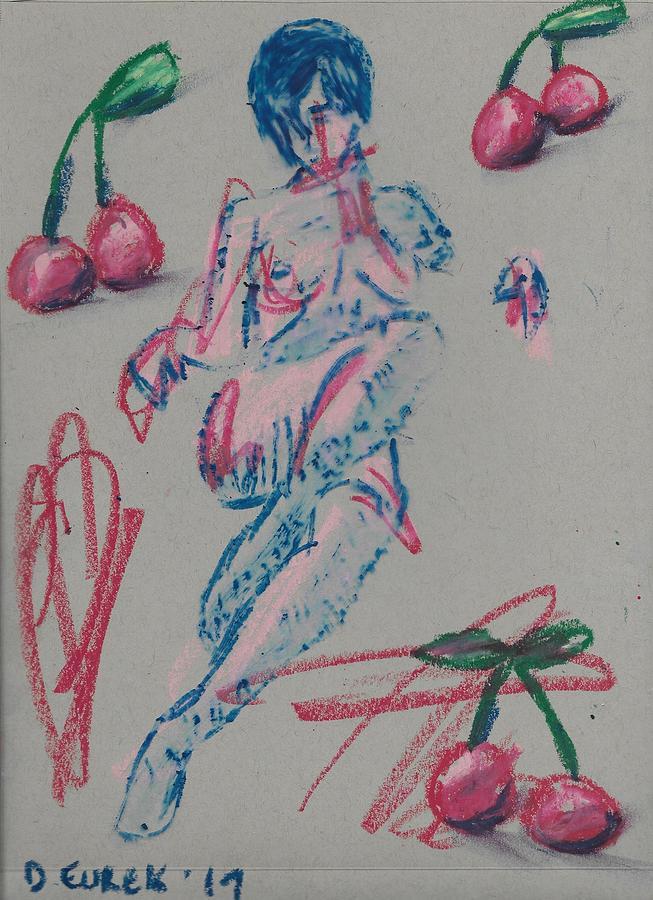 Study Of Cherries by Drew Eurek