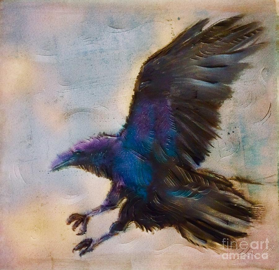 Study of Raven 2 by FeatherStone Studio Julie A Miller