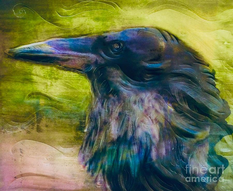 Study of Ravens 1 by FeatherStone Studio Julie A Miller
