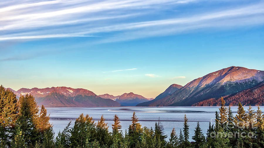 Stunning Alaskan Mountain Lake by Patrick Wolf