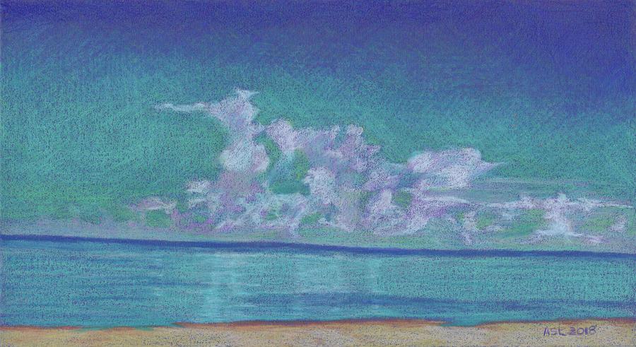 Stunning Clouds at Vanderbilt Beach by Anne Katzeff